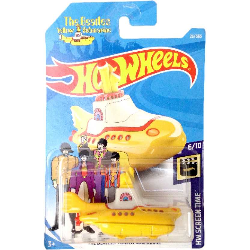 Hot Wheels The Beatles Yellow Submarine series 6/10 26/365 FJW38 escala 1/64