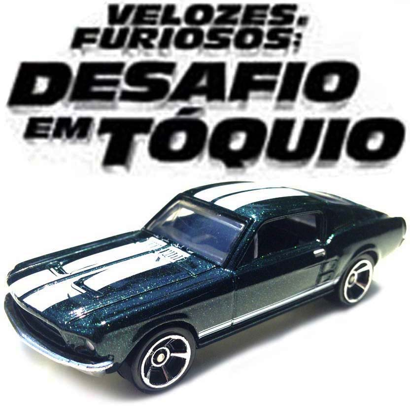 Hot Wheels The Fast & The Furious Tokyo Drift 67 Ford Mustang Y2134 série 4/8