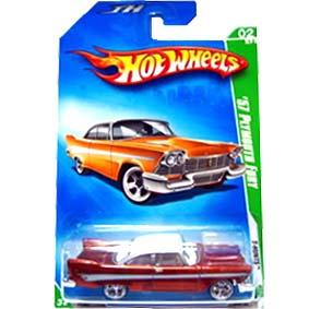 Hot Wheels Treasure Hunt$ 2009 57 Plymouth Fury THunt P2364 series 02/12 044/190