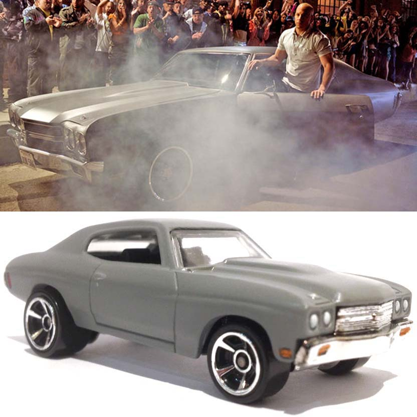 Hot Wheels Velozes e Furiosos 4 : 1970 Chevelle SS (Fast and Furious 4) Y2128