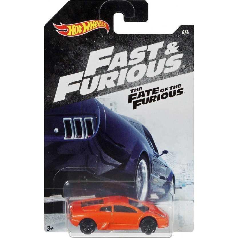 Hot Wheels Velozes e Furiosos Fast & Furious Lamborghini Murciélago 6/6 FKF09 escala 1/64