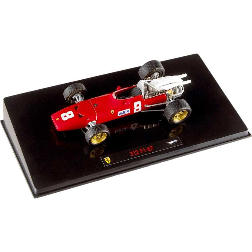 Hot Whees Elite Ferrari 312 F1-67 número 8 (1967) Chris Amon British GP N5589