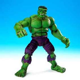 Hulk completo - Marvel Legends 9 (aberto) + braço do Galactus