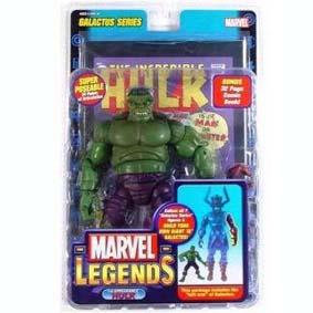 Hulk Marvel Legends 9 + braço do Galactus
