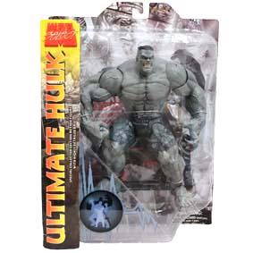 Hulk Marvel Select Cinza Boneco articulado (14 pontos) Action Figures Brasil