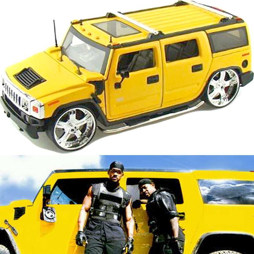 Hummer H2 (2003) similar do filme Bad Boys 2 marca Jada Toys escala 1/24