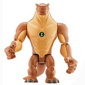 Humungousaur do Ben 10 (aberto) + 1 mini figura