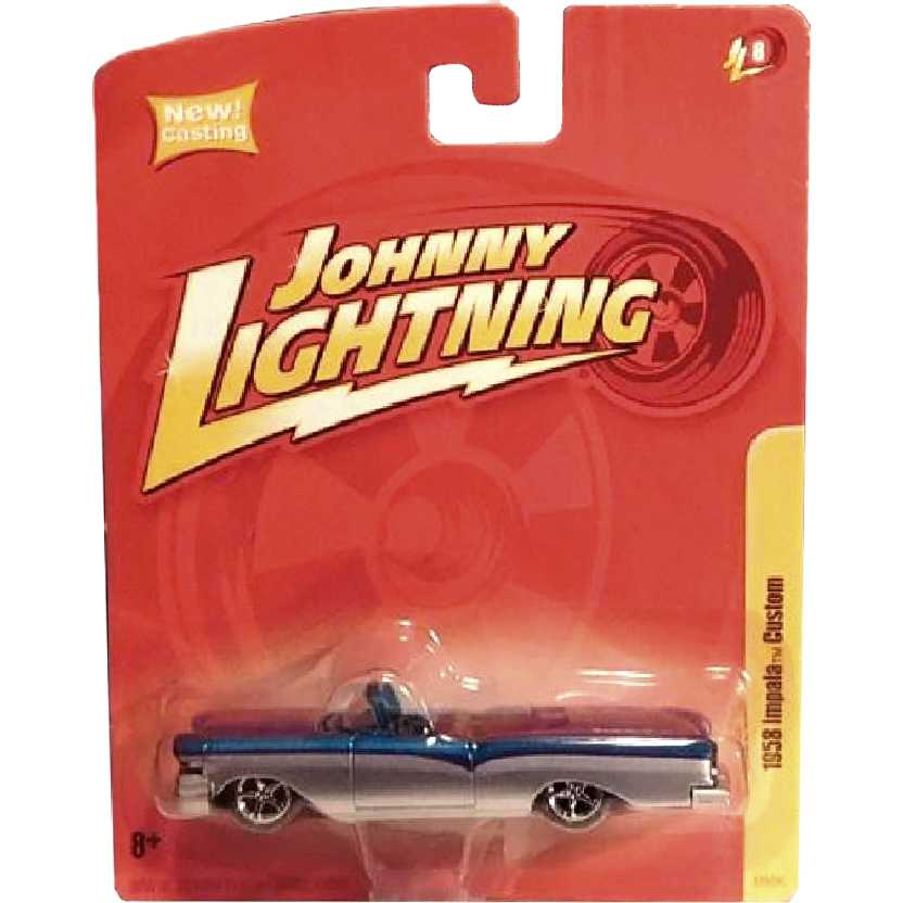Impala Custom (1958) marca Johnny Lightning 53929C Release 8 escala 1/64