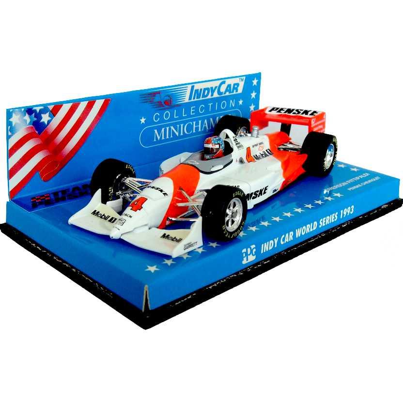Indy 500 Penske Chevrolet PC-22 (1993) Emerson Fittipaldi - Minichamps escala 1/43 RARO