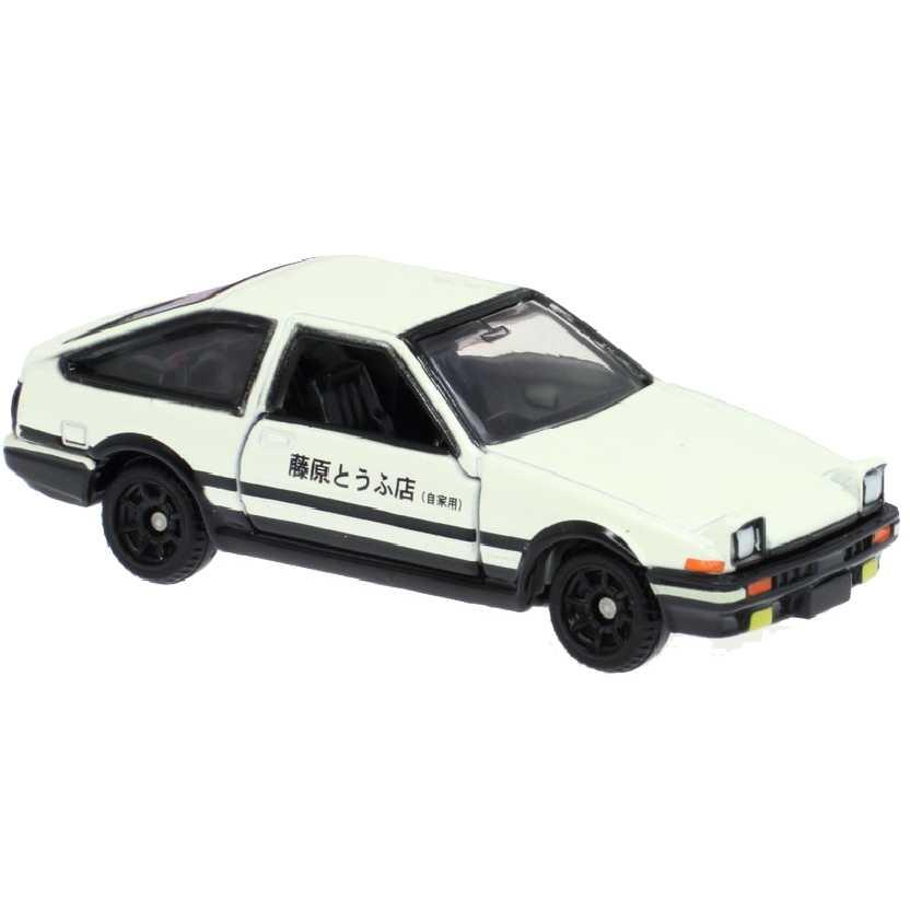 Initial D Toyota AE86 Trueno (White) Dream Tomica Takara / Tomy escala 1/64