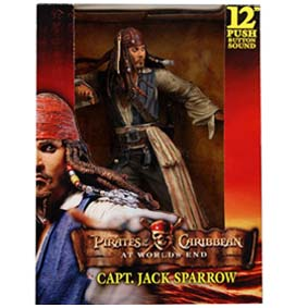 Jack Sparrow - At Worlds End com som (médio) Johnny Depp