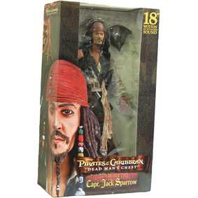 Jack Sparrow sem jaqueta - Dead Man Chest (c/ som) Johnny Depp