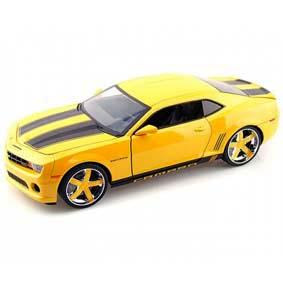 Jada Camaro SS (2010) amarelo escala 1/18