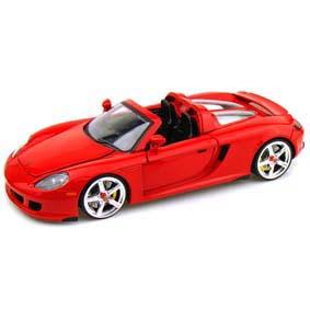 Jada Toys Brasil :: escala 1/24 Porsche Carrera GT (2005)