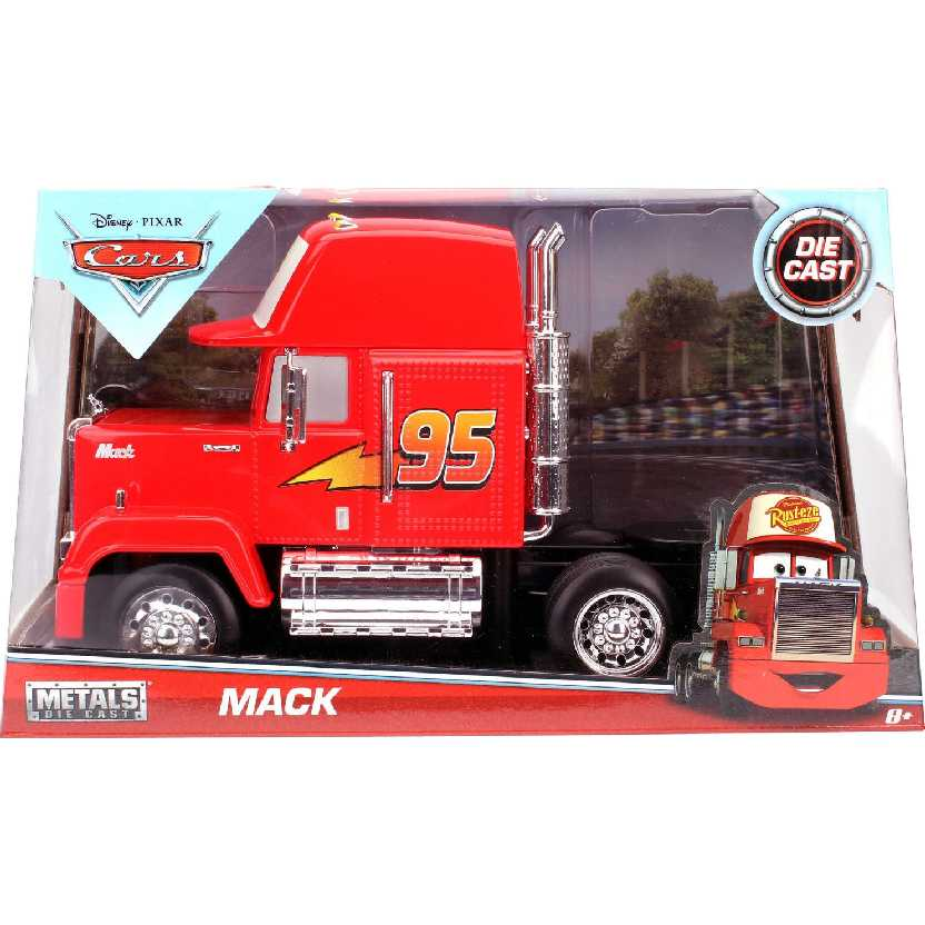 Jada Toys (metal) Disney Pixar Cars Mack Trailes escala 1/24