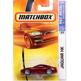 Jaguar XK Matchbox escala 1/64 M5286
