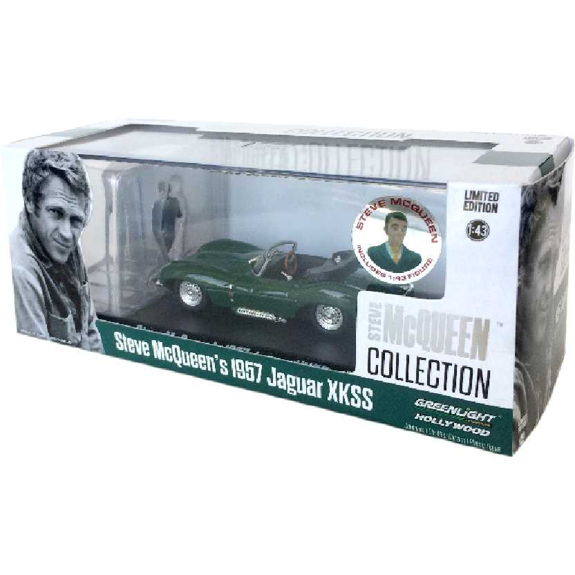 Jaguar XKSS (1957) Steve McQueen Collection marca Greenlight escala 1/43