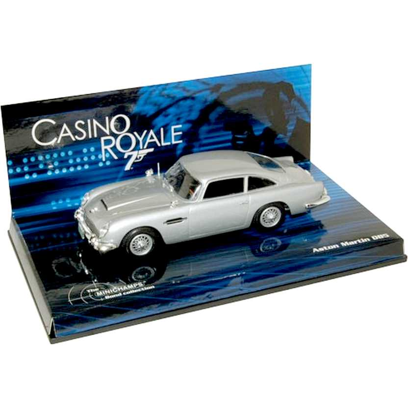 James Bond 007 ( Casino Royale ) Aston Martin DB5 - Minichamps escala 1/43