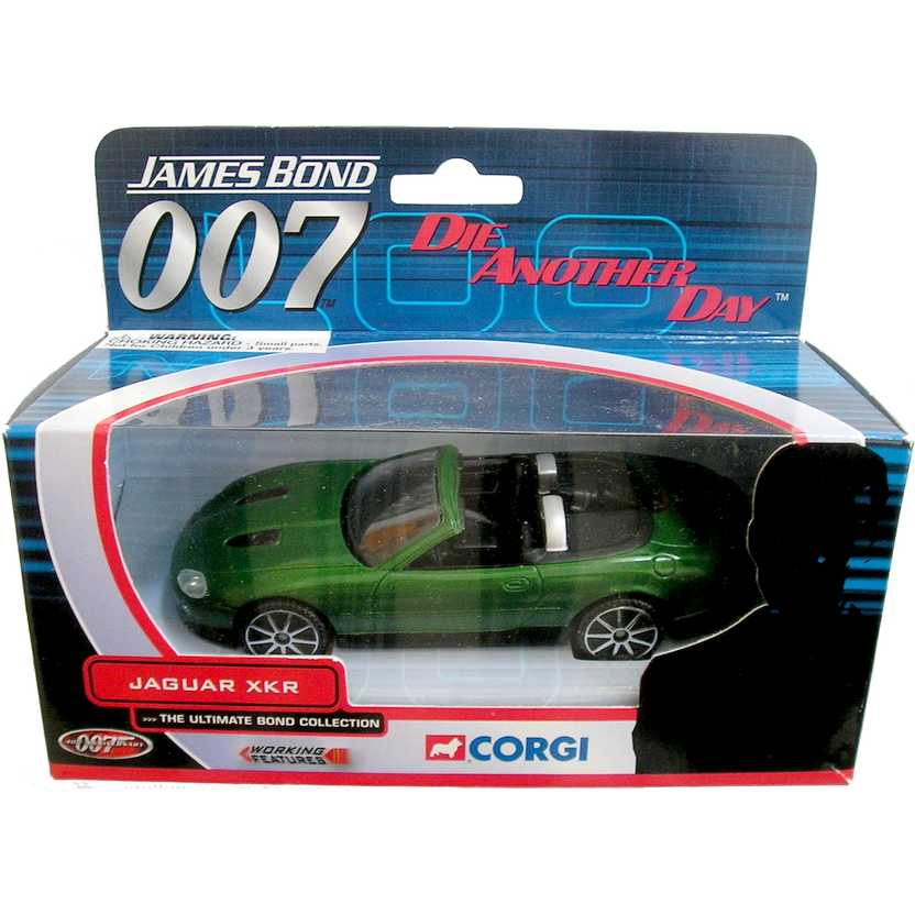 James Bond 007 ( Die Another Day ) Jaguar XKR Corgi escala 1/36 TY07601
