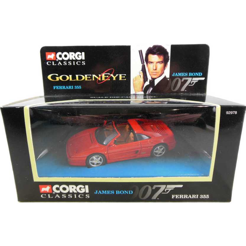 James Bond 007 ( GoldenEye ) Ferrari 355 GTS Corgi escala 1/43 92978