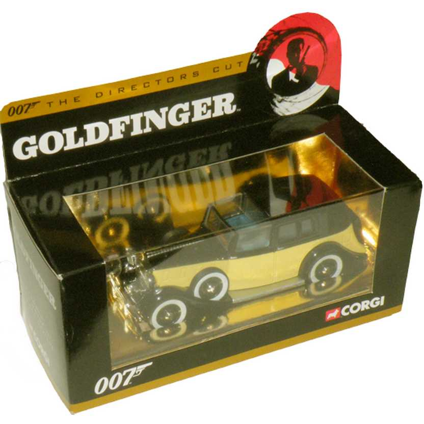 James Bond 007 ( Goldfinger ) Rolls Royce III Sedance De Ville Corgi escala 1/36 CC06803