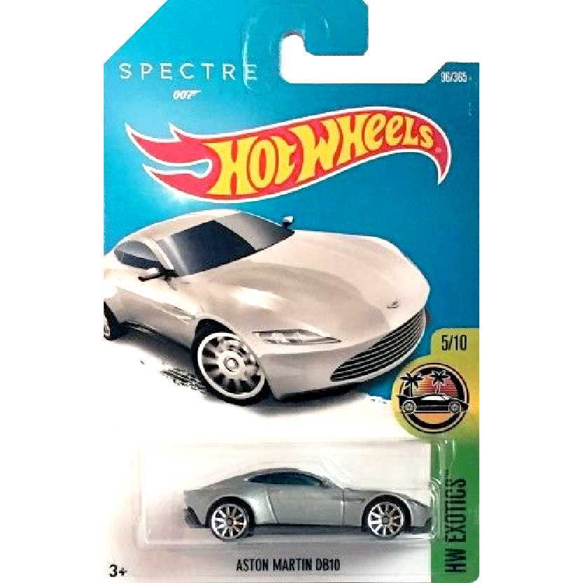James Bond 007 Hot Wheels Aston Martin DB10 series 5/10 96/365 DVB08 escala 1/64