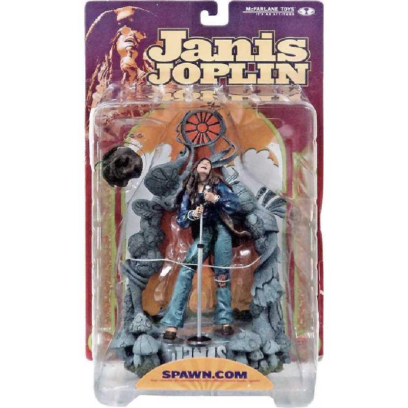 Janis Joplin marca McFarlane Toys action figures