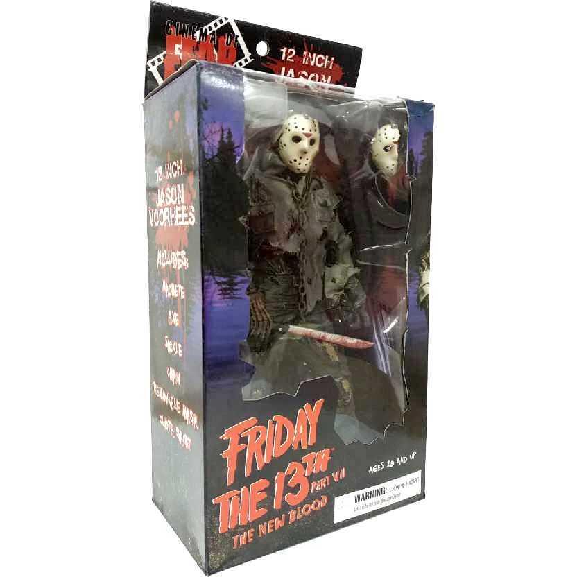 Jason - Sexta feira 13 parte 7 Friday The 13th New Blood Mezco 12 inch