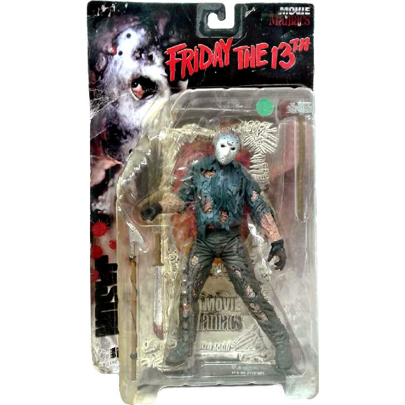 Jason Voorhees (Friday The 13th) Movie Maniacs McFarlane Toys action figures
