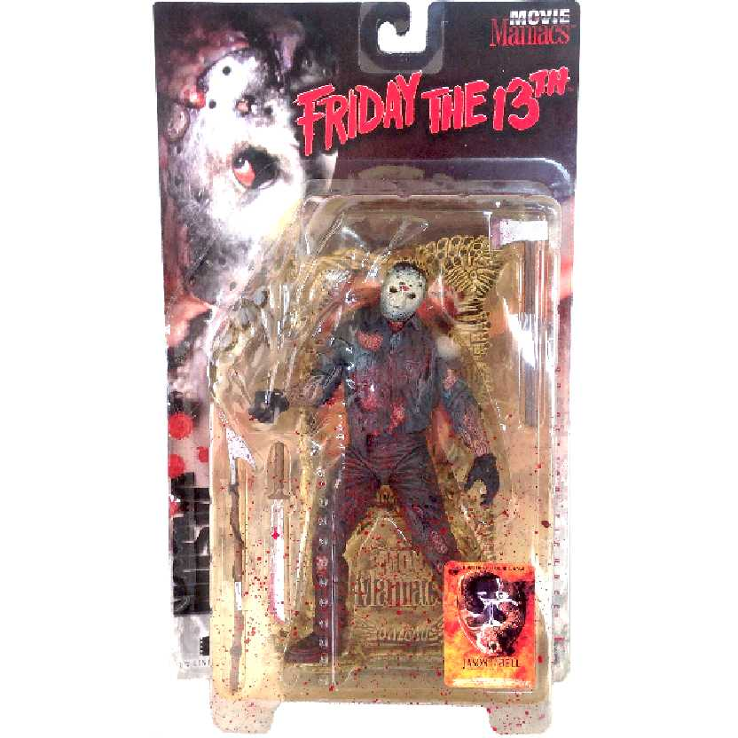 Jason Voorhees McFarlane Movie Maniacs Friday the 13th (Sexta-Feira 13)