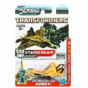 Jato Transformers Starscream Speed Stars da Hasbro