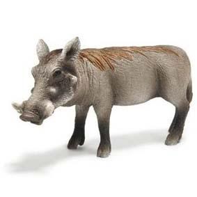 Javali fêmea 14613 (Schleich do Brasil) Warthog Sow