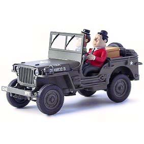 Jeep do Gordo e o Magro ( Willys Jeep Laurel & Hardy Adventures ) escala 1/32