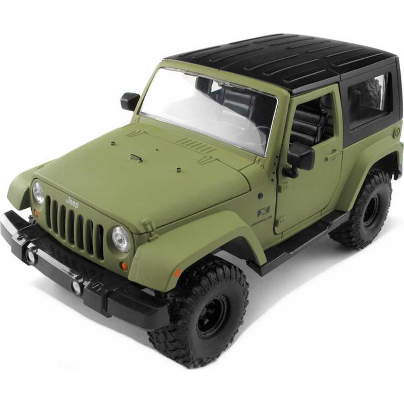 Jeep Wrangler Hard Top (2007) marca Jada Toys escala 1/24