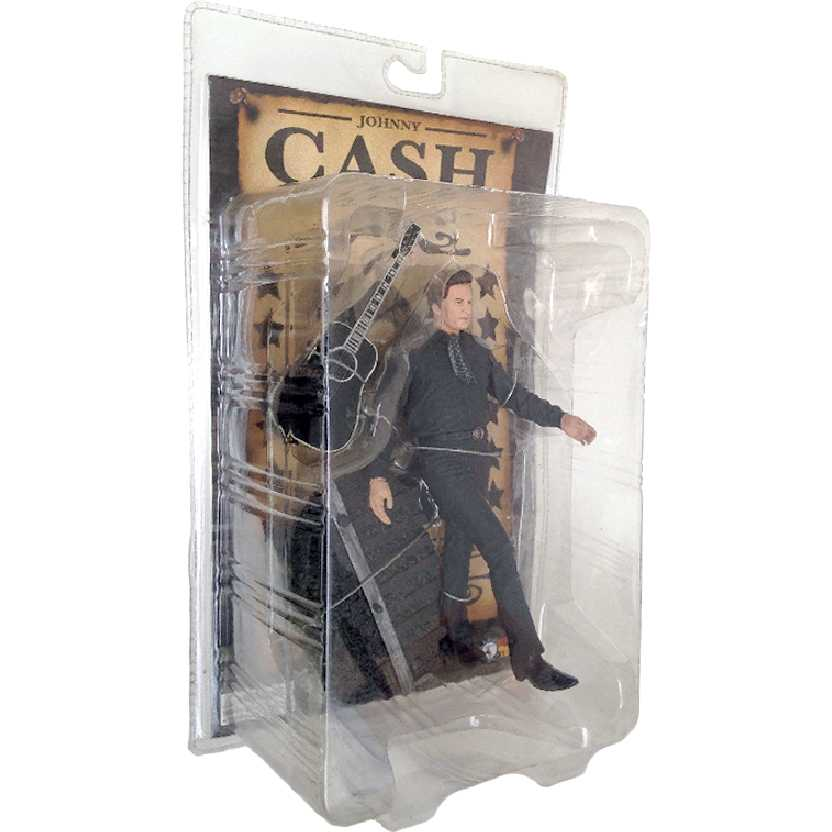 Johnny Cash (lacrado) Sota Toys Man In Black Action Figure + Guitarra