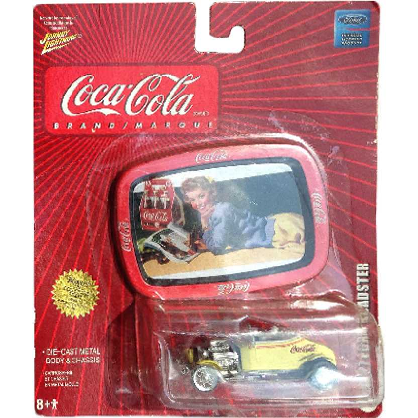 Johnny Lightning 1927 Ford Roadster coleção Coca-Cola Tins 1996 escala 1/64