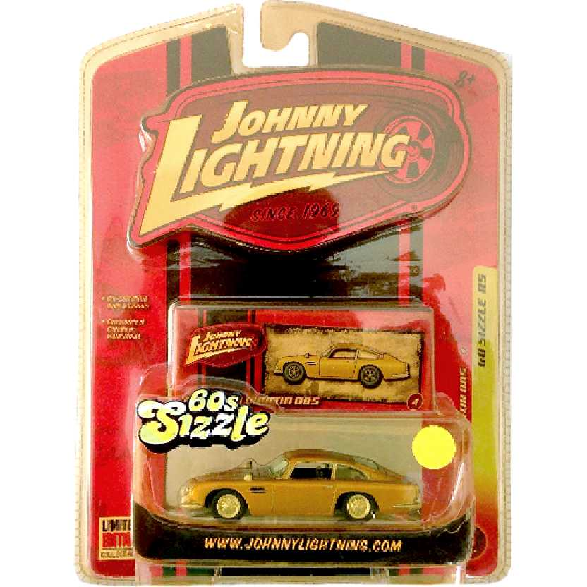 Johnny Lightning 64 Aston Martin DB5 60 Sizzle R5 50188 escala 1/64