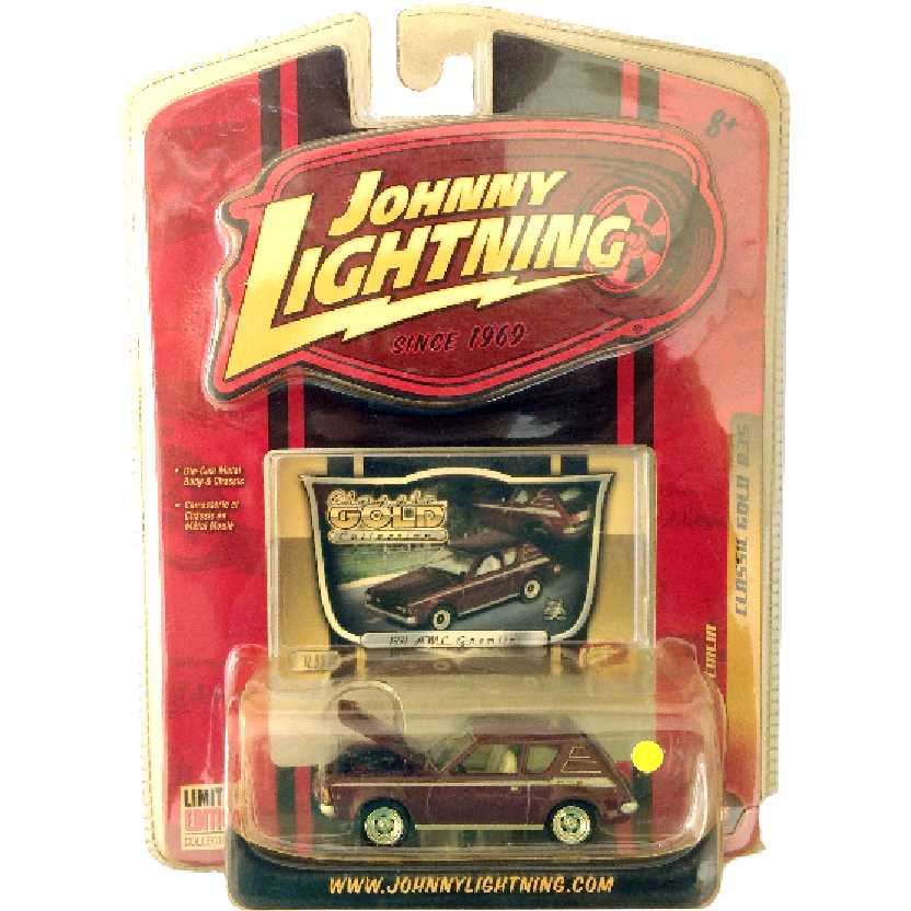 Johnny Lightning 71 AMC Gremlin Classic Gold R35 50185 escala 1/64