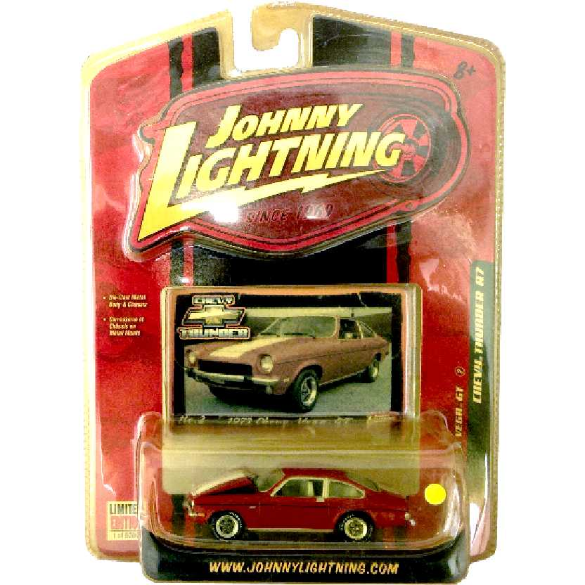 Johnny Lightning 73 Chevy Vega GT Chevy Thunder R7 50191 escala 1/64