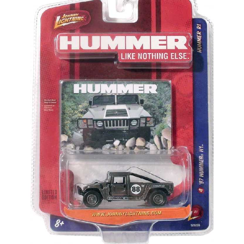 Johnny Lightning 97 Hummer H1 escala 1/64