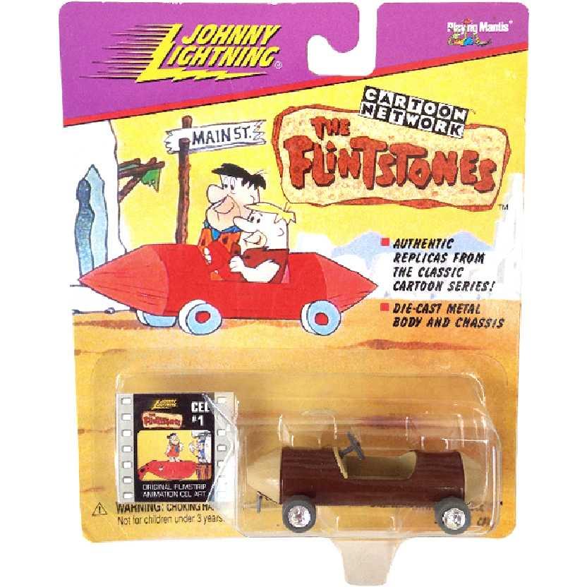 Johnny Lightning Carro do Barney Rubble Cartoon Network The Flintstones escala 1/64
