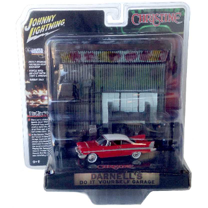 Johnny Lightning Christine O Carro Assassino 1958 Plymouth Fury Darnells Garage 1/64
