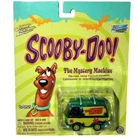 Johnny Lightning Scooby Doo Mystery Machine (Chromo)
