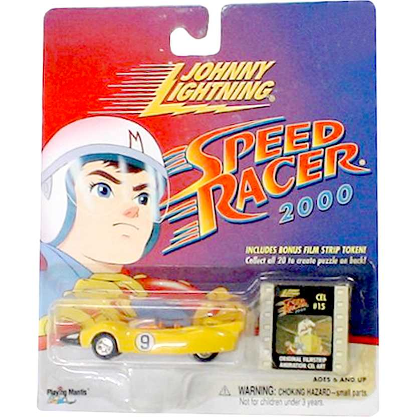 Johnny Lightning Speed Racer - Racer X (Shooting Star) Corredor X escala 1/64