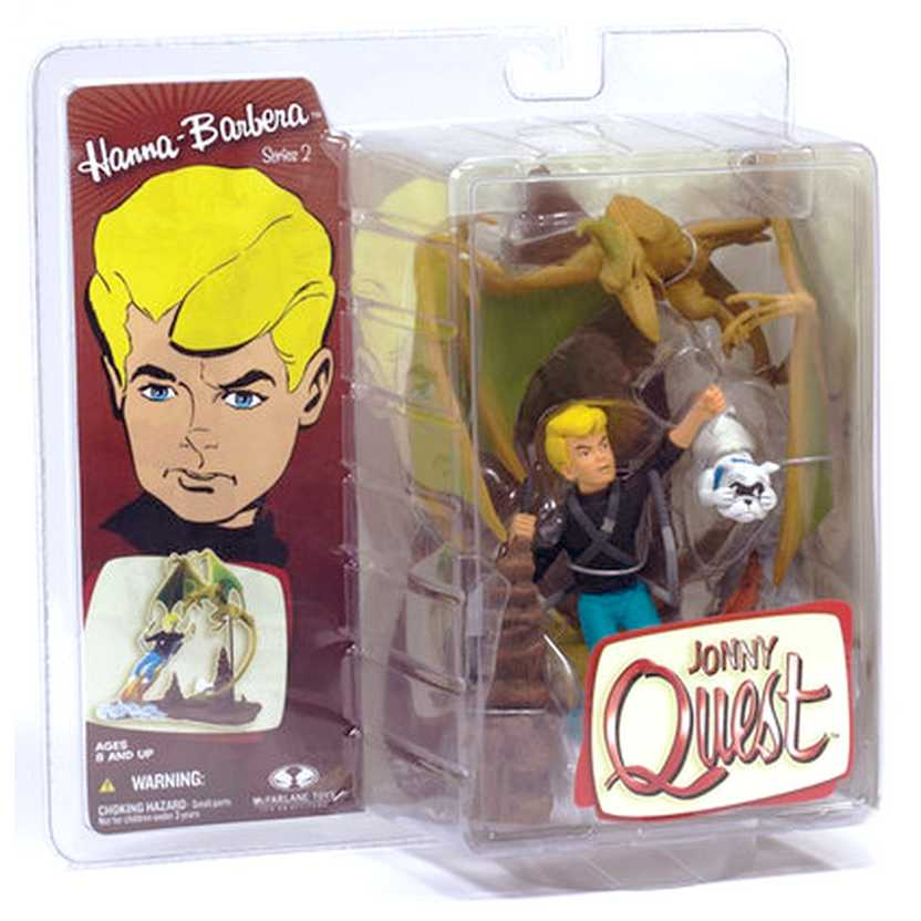 Jonny Quest com Bandit (série 2)