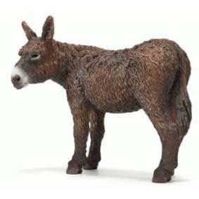 Jumento Poitou 13661 (Brinquedo Schleich Brasil 2011) Poitou Donkey