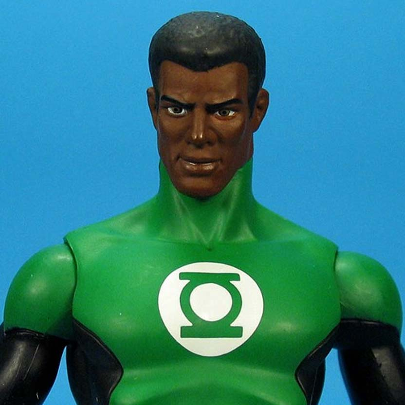 Justice League Alex Ross Green Lantern Action Figure series 7 DC (Liga da Justiça) Aberto