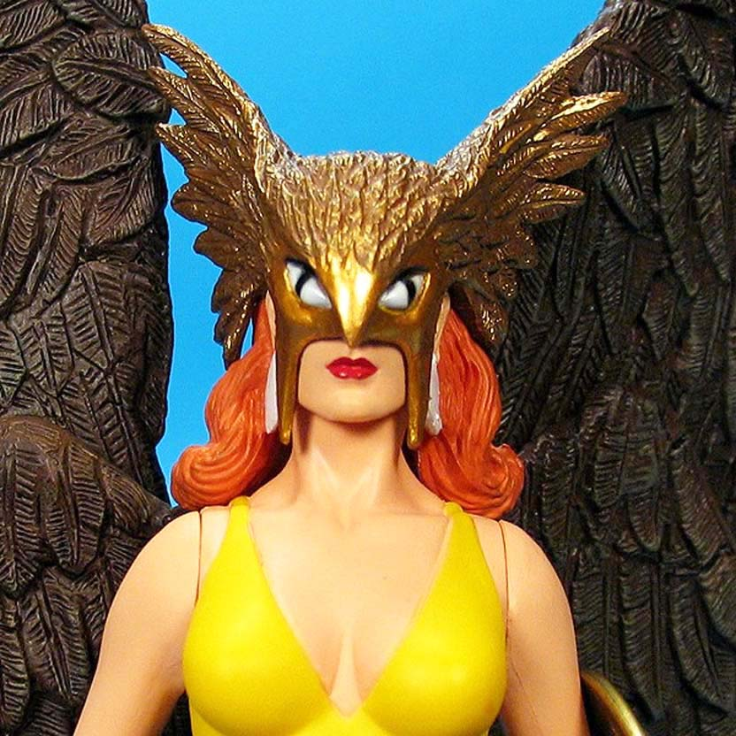 Justice League Alex Ross series 6 : Hawkgirl DC Direct action figure