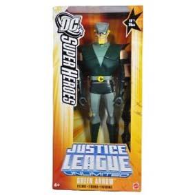 Justice League Unlimited Green Arrow Mattel Arqueiro Verde Liga da Justiça