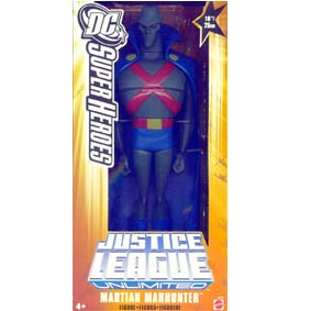 Justice League Unlimited Martian Manhunter Mattel Ajax Marciano
